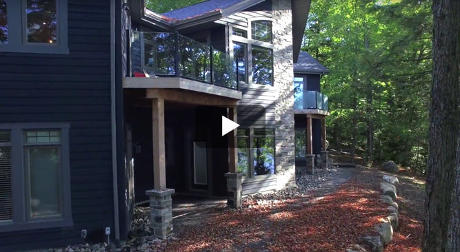 Cedarland Homes Cottage Video Muskoka